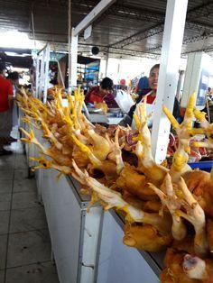 Chickens in Mercado Modelo, Chiclayo, Peru