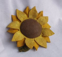 Primitive Fall Sunflower Pinkeep or Ornie by happyvalleyprimitive
