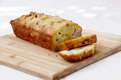 { Ham & Cheese Bread }--- make as bacon and/or sausage bread?