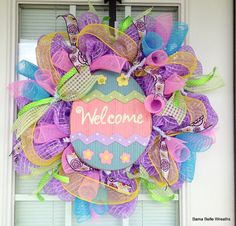 Easter Wreath Spring Wreath