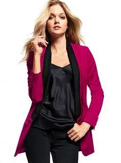 Long Tuxedo Jacket - Victoria's Secret
