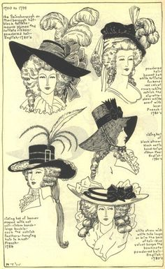 18th Century: The Picture Hat