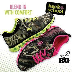 Realtree Girl Max 5 Camo Sneakers. Pick your favorite color! #RealtreeMax5 #Realtreegear