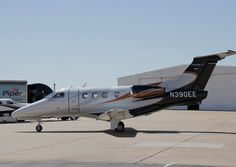 The Embraer Phenom 100 will be sure to garner looks at Airportfest at Fort Worth Meacham International Airport.