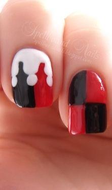 Harley Quinn nails!