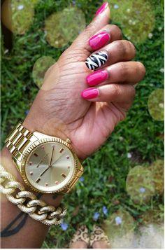 Zebra Nails - Accessories - Animal Print - Michael Kors