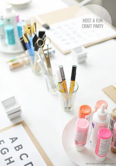 Host a Craft Party   Creature Comforts