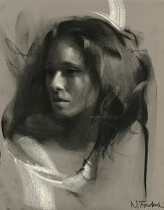 Figurative Charcoal - Art Curator & Art Adviser. I am targeting the most exceptional art! See Catalog @ http://www.BusaccaGallery.com