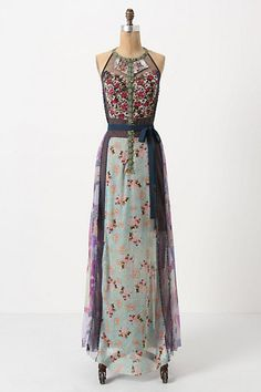 Wilderflora Patchwork Maxi Dress, Beguile by Byron Lars