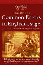 Common errors in English usage.