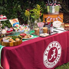 Choose Your Game Day Menu and Serving Pieces - Tips for Hosting a Great Tailgate - Southern Living