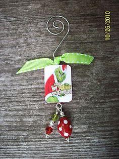 Grinch ornament!!