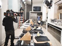Go behind the scenes on the set of the #FoodNetworkStar premiere.