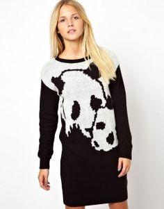 Panda Jumper Dress