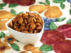 Sweet Curry-Cinnamon Roasted Pumpkin Seeds