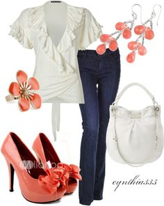 """Spring Blossoms"" by cynthia335 on Polyvore"