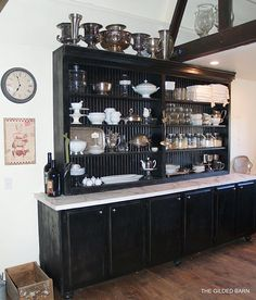 DIY from old kitchen cabinets- wow