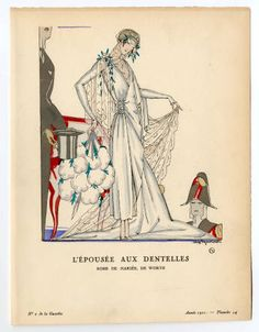 Wedding 1870-1929, Plate 063. Fashion plates, 1790-1929. The Costume Institute Fashion Plates. The Metropolitan Museum of Art, New York. Gift of Woodman Thompson (b17509853) #fashion