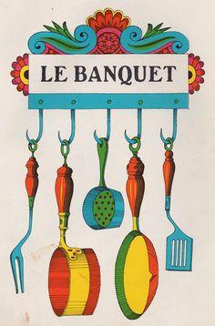 Taken from Sesyle Joslin's La Petite Famille, 1965  Artwork by John Alcorn