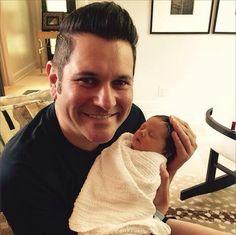 Uncle Jay & baby Devon Olivia Rooney!!