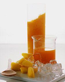 Carrot-Mango Smoothie