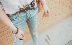 Ripped skinny Jeans!!