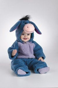 Deluxe Plush Eeyore Costume - Infant, Item Sizing: The size guide found below is specific to the costume in this listing. Other costumes may have different sizing patterns. For example, company A's size medium may be equivalent to company..., #Toys, #Baby Boys