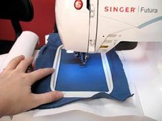 How to use an embroidery machine