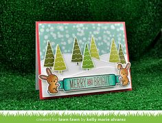 Lawn Fawn Intro: Snow Day stamps and dies