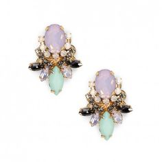 Blush Multi Cluster Stone Stud / by Sole Society