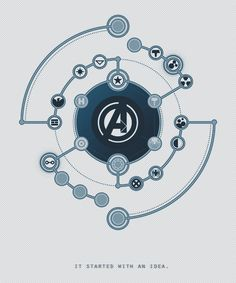 """Avengers (2012) #1: """"It started with two men. It started with an idea."""""""