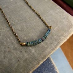 Turquoise Steps Necklace