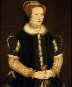 A portrait of the young Elizabeth Talbot, known popularly as Bess of Hardwick. The portrait was once wrongfully labelled as Queen Mary I of England.