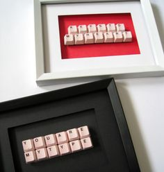 Upcycle Keyboard Craft Idea