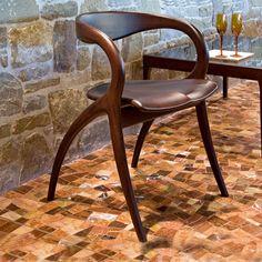 Contemporary Italian modern Star Dining Chair By Domitalia