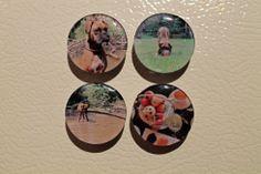 DIY Photo Magnets