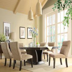 Charles 7-piece Contemporary Dining Set | Overstock.com