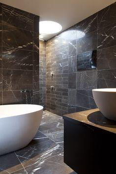 A very Masculine bathroom. #bathroom