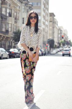 Spring 2013: Ocean Drive #fashion #trends #prints #color #inspiration