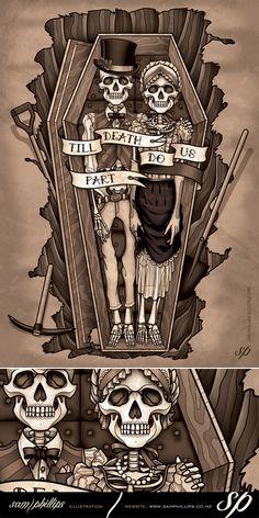 Till Death Do Us Part Dead Couple