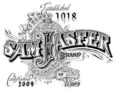 Sam Jasper Brand - hand illustrated by Dave Stevenson! @Jennifer Vaughn #illustration