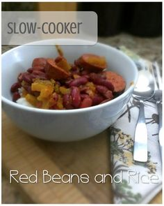 This is the best red beans and rice recipe I've tried so far! Tastes like the one I used to have growing up. Simple and tasty. www.sodapopave.com