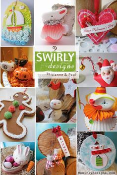 Swirly Designs by Lianne & Paul
