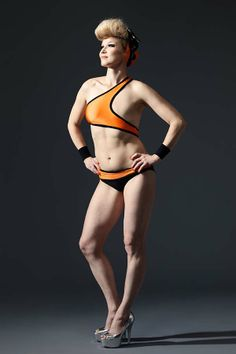 Monokini for post-mastectomy, great idea for those who want to be able to go swimming after going through breast-cancer.
