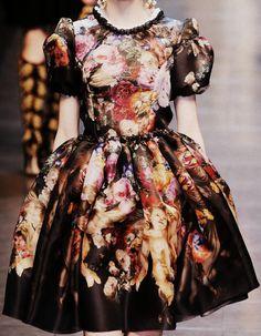Dolce and Gabbana Fashion  Autumn/Winter  2012   #fashion #trends #2012