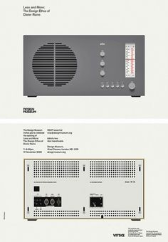 Dieter Rams. Less and More (The Design Museum) — Bibliotheque