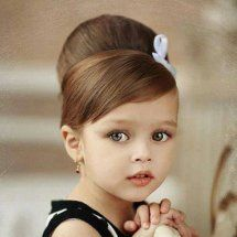 Cutest hairstyle ever... Adorable!!