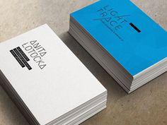 LightTrace Business cards