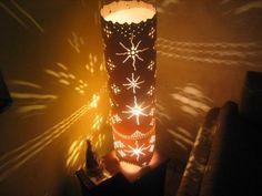 Luminaria em pvc