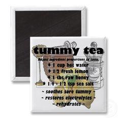 Stomach flu Tea